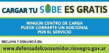 Imagen-Los centros de recarga de SUBE no pueden cobrar costo adicional por el servicio